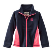 OshKosh B'gosh® Zip-Front Performance Jacket - Girls 2t-5t