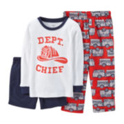 Carter's® 3-pc. Mix-and-Match Fire Department Pajama Set - Boys 18-24m