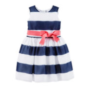Carter's® Crepe Striped Easter Dress – Girls 2t-5t