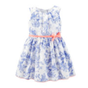Carter's® Sateen Porcelain Easter Dress - Girls 4-6x