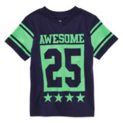 Okie Dokie® Short-Sleeve Graphic Sports Tee - Boys 2t-5t