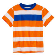 Okie Dokie® Short-Sleeve Striped Tee - Boys 2t-5t