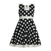 Bonnie Jean® Polka Dot Dress — Girls Plus