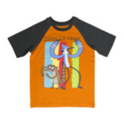 Regular Show Raglan-Sleeve Graphic Tee - Boys 6-16