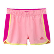 adidas® Player Shorts – Girls 7-16