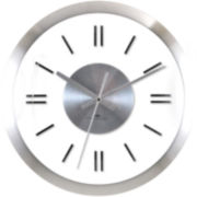 FirsTime® Modish Metal Whisper Wall Clock