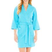 Jasmine Rose Textured Knit Kimono Robe