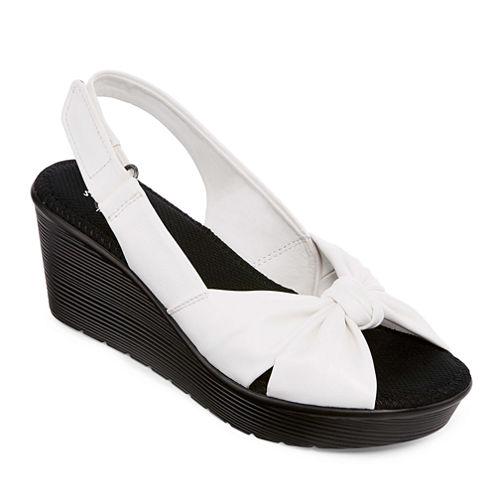 St. John's Bay® Beckett Wedge Sandals