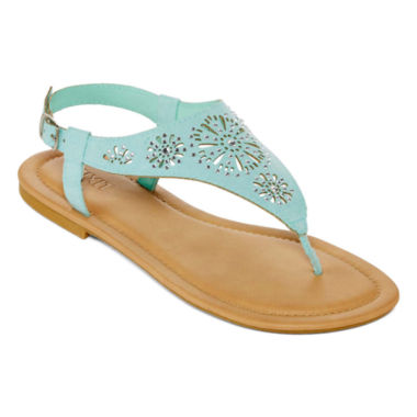 jcpenney.com | Mixit™ Floral  Shield Strap Sandals