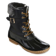 Henry Ferrera Mission 400 Buckle Accent Duck Boots