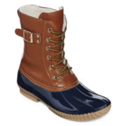 Henry Ferrera Mission 500 Buckle Accent Duck Boots