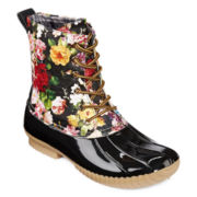 Henry Ferrera Mission 600 Floral Duck Boots
