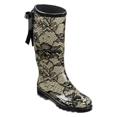 jcpenney.com | Henry Ferrera Vermont Lace Back Rain Boots