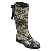 Henry Ferrera Vermont Lace Back Rain Boots