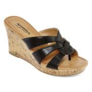 Arizona Caralin Wedge Sandals