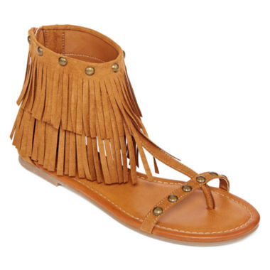 jcpenney.com | Arizona Gelato Fringe Sandals