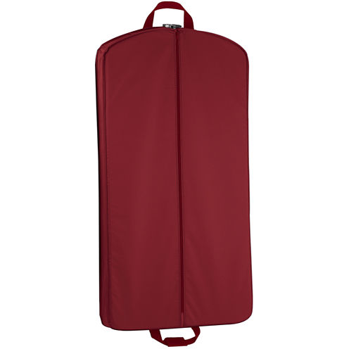 """Wallybags® 40"""" Suit-Length Carry-On Garment Bag with Pockets"""