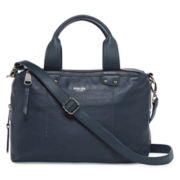 Perlina Ellen Leather Satchel Bag