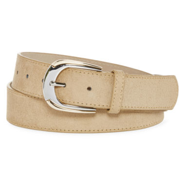 jcpenney.com | Big Buddha Two-Tone Contour Buckle Belt