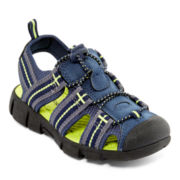 Okie Dokie® Lil Spencer Boys Sport Sandals - Toddler