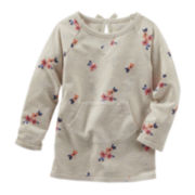 OshKosh B'Gosh® Long-Sleeve Floral Tunic - Toddler Girl 2t-5t