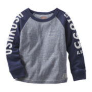 OshKosh B'Gosh® Long-Sleeve Raglan Tee - Toddler Boys 2t-5t