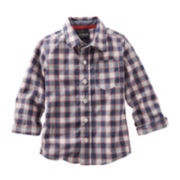 OshKosh B'Gosh® Checkered Button-Front Shirt - Toddler Boys 2t-5t