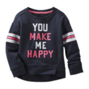OshKosh B'Gosh® Happy Sweatshirt - Preschool Girls 4-6x