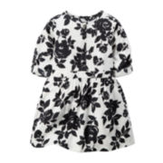 Carter's® Short-Sleeve Floral Print Dress - Toddler Girls 2t-5t