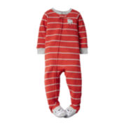 Carter's® Long-Sleeve Dog Footed Pajamas - Baby Boys 12m-24m