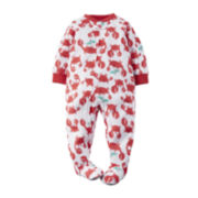 Carter's® Long-Sleeve Footed Pajamas - Baby Boys 12m-24m