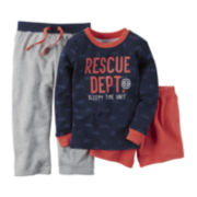Carter's® 3-pc. Long-Sleeve Pajama Set - Preschool Boys 4-7