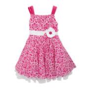 Rare Editions Sleeveless Floral Dress - Preschool Girls 4-6x