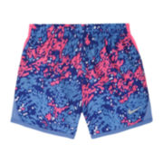 Nike® Dri-Fit Running Shorts - Preschool Girls 4-6x