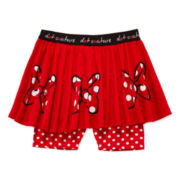 Disney Apparel by Okie Dokie® Minnie Printed Skort - Preschool Girls 4-6x