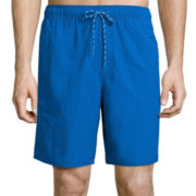 St. John's Bay® Solid Promo Swim Trunks