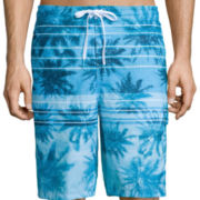 Speedo® Palm Stripe E-Board Shorts
