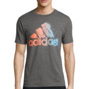 adidas® Digi Fade Logo Tee
