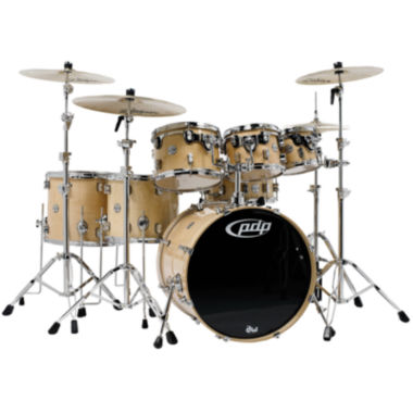 jcpenney.com | Pacific PDP CM7 Concept Maple 7-pc. Drum Shell Pack with Chrome Hardware