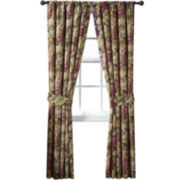 Waverly® Floral Flourish Cordial 2-Pack Curtain Panels