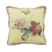 Waverly® Sonnet Sublime Embroidered Decorative Pillow