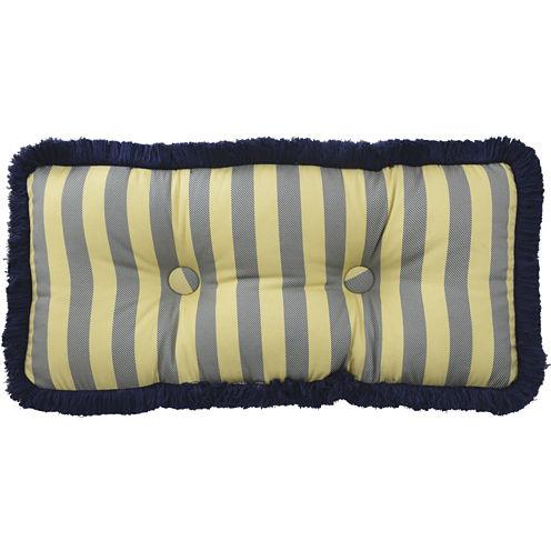 Waverly® Sanctuary Rose Tufted Oblong Decorative Pillow