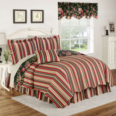 jcpenney.com | Waverly® Charleston Chirp Noir Reversible Quilt Set & Accessories