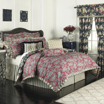 Waverly® Sanctuary Rose 4-pc. Comforter Set