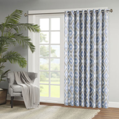 jcpenney.com | Madison Park Stetsen Diamond-Printed Grommet-Top Patio Panel