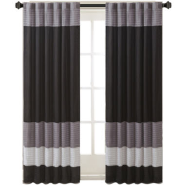 jcpenney.com | Infinity Polyoni Pintuck-Striped Rod-Pocket Curtain Panel