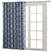 Madison Park Westmont Fretwork Print Grommet-Top Patio Panel
