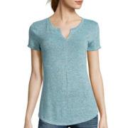 a.n.a® Short-Sleeve High-Low T-Shirt