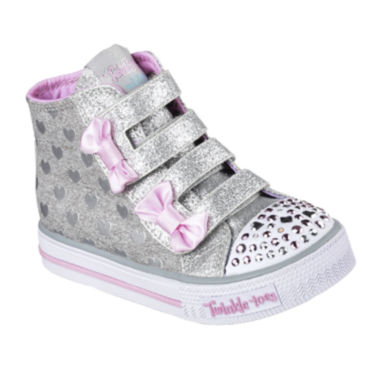 jcpenney.com | Skechers Twinkle Toes Shuffles Doodle Days Girls Sneakers - Toddler