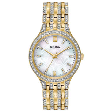 jcpenney.com | Bulova Womens Gold Tone Bracelet Watch-98l234